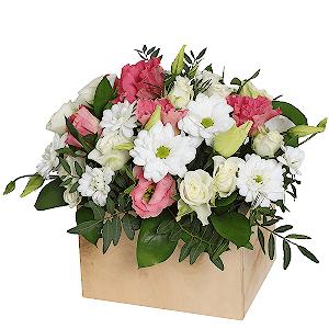 Клумба +30% цветов с доставкой в Воронеже