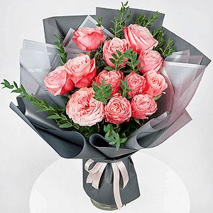 Бизнес-букет +30% цветов с доставкой в Воронеже