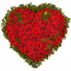 "Композиция ""Сердце из роз"""